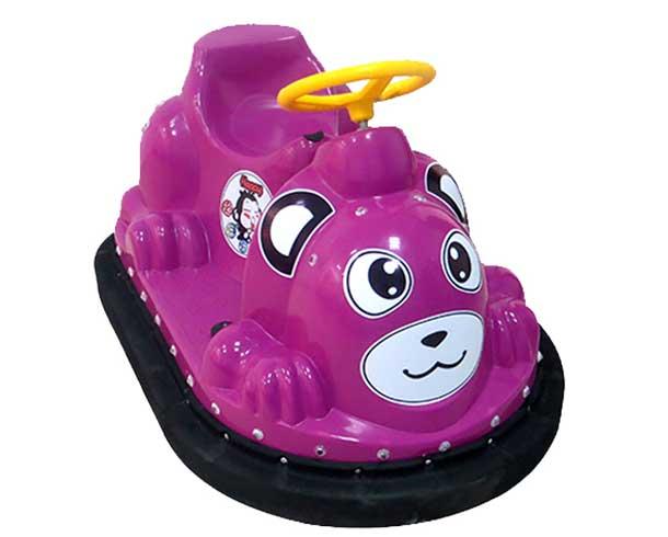 动物碰碰车紫色