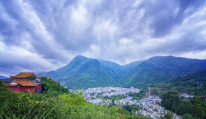 云南玉溪禄充笔架山旅游风景区